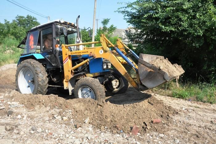 В Дубоссарах восстанавливают дороги после ливня
