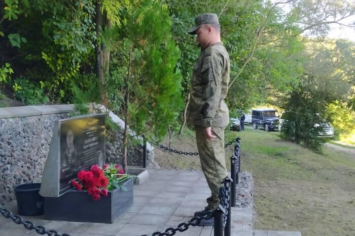 В Дубоссарском районе почтили память пограничника, погибшего на службе