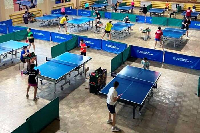 В Школе настольного тенниса Дубоссар прошли первые в этом году соревнования