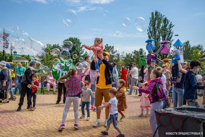 «Чудо-град» Екатерининского парка распахнул свои двери для юных приднестровцев