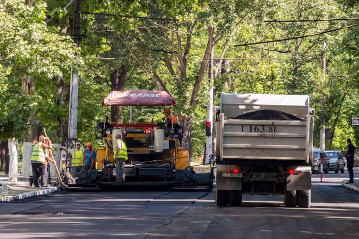 В этом году компания «Шериф» выделила почти 1 млн долларов на ремонт дорог в Тирасполе