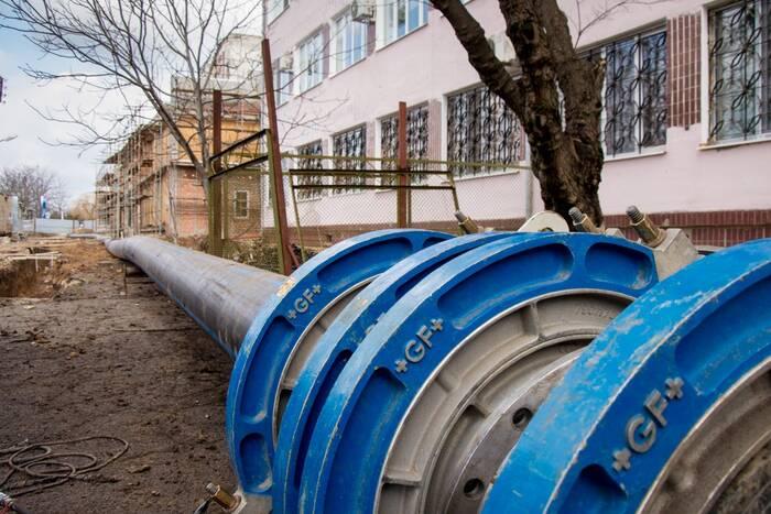 В этом году Водоканал проложил более 26 км новых сетей водоснабжения