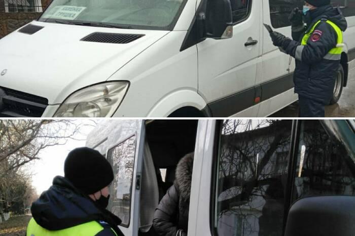 В Каменке проверили соблюдение карантинных правил в маршрутных такси