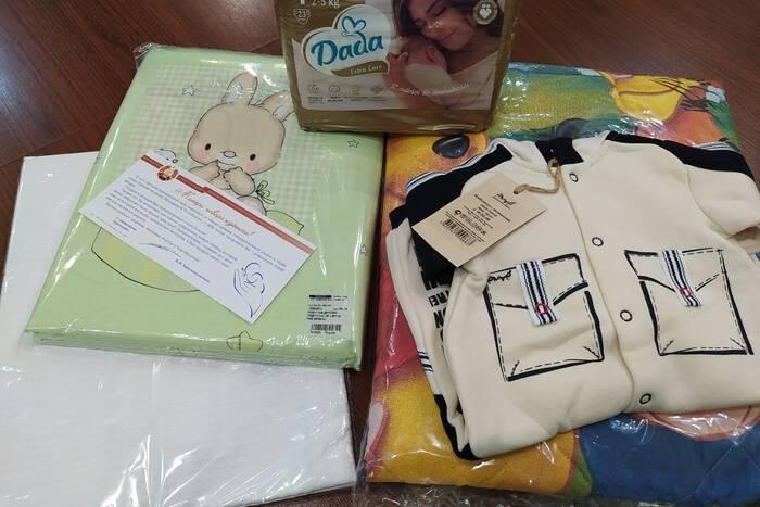 В Каменке с начала года родители четырёх малышей получили президентские подарки