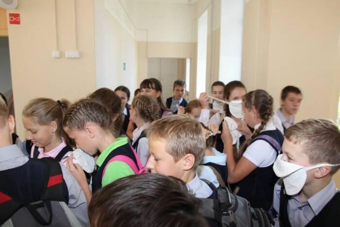 В образовательных учреждениях проведут тренировки по эвакуации