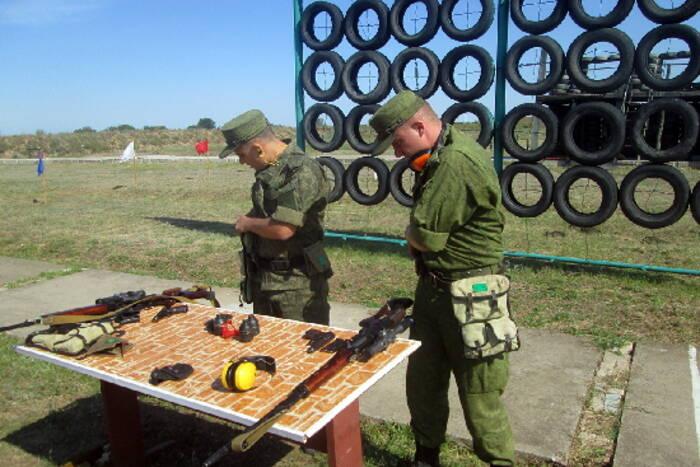 В ОГРВ прошли состязания среди стрелков