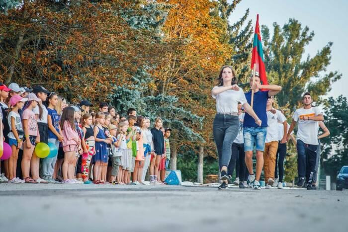 В оздоровительном комплексе «Днестровские зори» открылась четвертая летняя смена