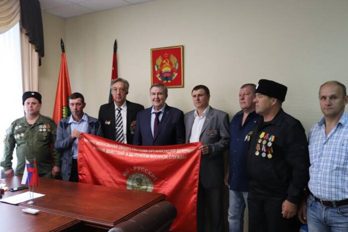 В Представительстве ПМР в Москве наградили защитников Приднестровья