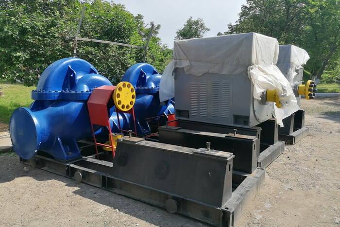 Мелиораторы ремонтируют насосные станции по всей республике