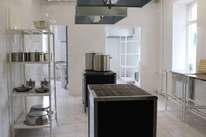 В Республиканской туберкулёзной больнице завершили ремонт пищеблока и прачечной