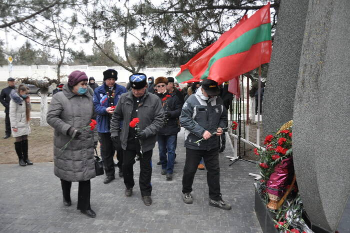 В Приднестровье почтили память воинов-интернационалистов