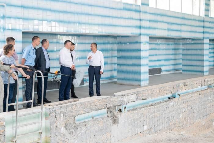 В Рыбнице приступили к ремонту бассейна в спортивной школе № 1