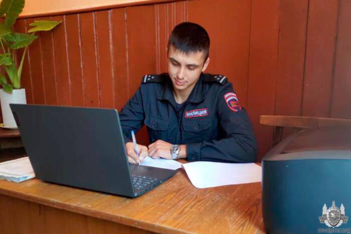 В рыбницком селе Красненькое открыли опорный пункт милиции