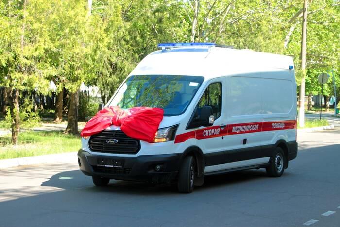 В Рыбницу доставили новый автомобиль скорой помощи