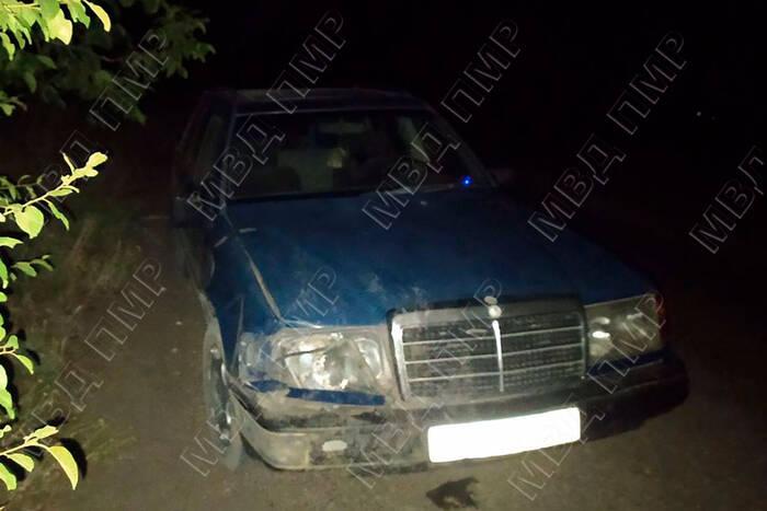 В Ново-Комиссаровке водитель сбил молодого человека и скрылся с места аварии