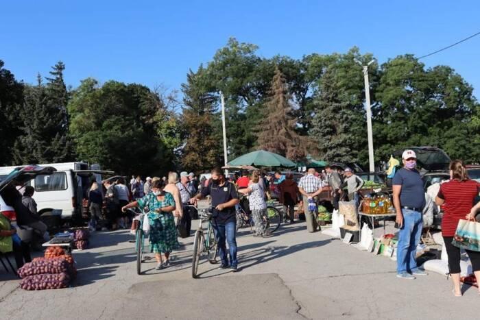 В Слободзее прошла первая в этом сезоне ярмарка выходного дня