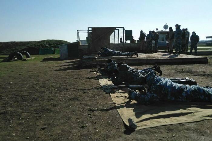 В Специальной моторизованной войсковой части МВД прошли учебные стрельбы