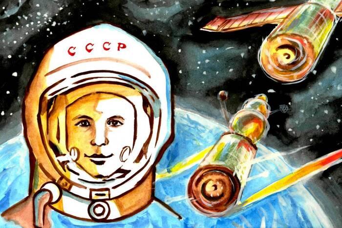В столице объявлен конкурс детских рисунков «Звездам навстречу»