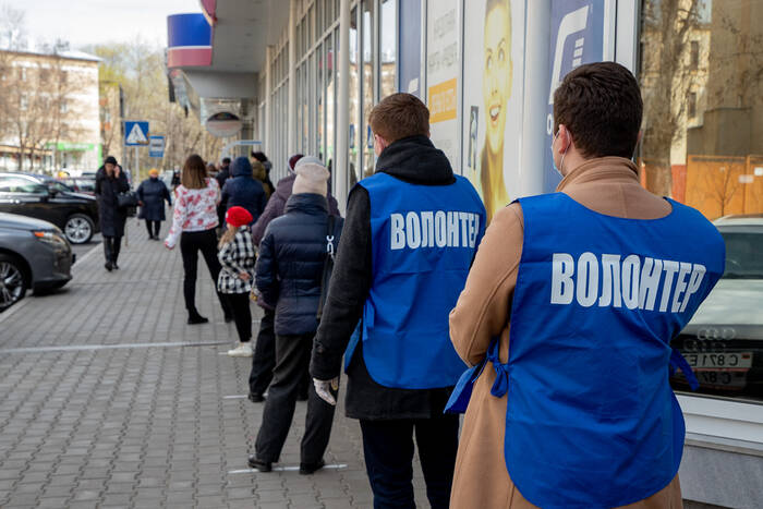 В столице возобновляется волонтерская помощь пожилым людям