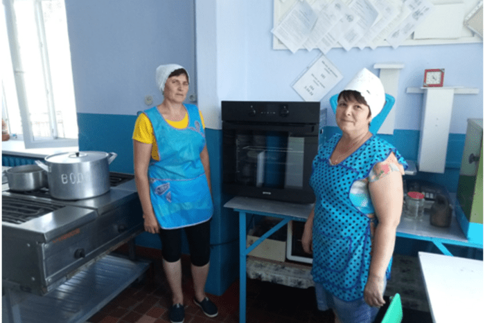 В столовых некоторых школ Рыбницкого района обновили оборудование и сделали ремонт