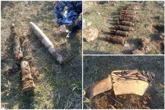 В Тирасполе обнаружили целый арсенал старых боеприпасов