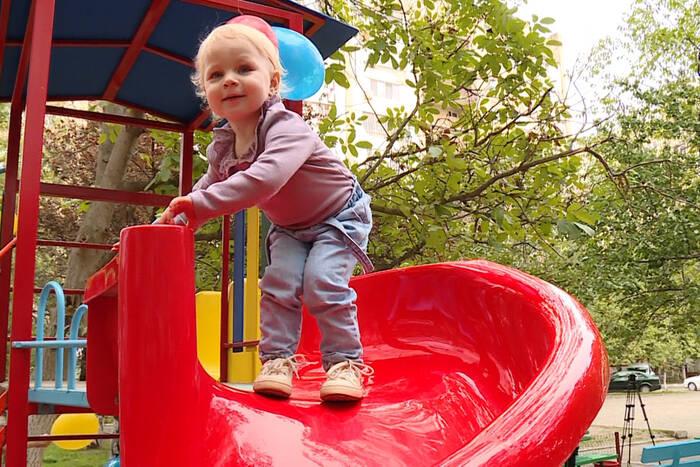 В Тирасполе появилась ещё одна детская площадка