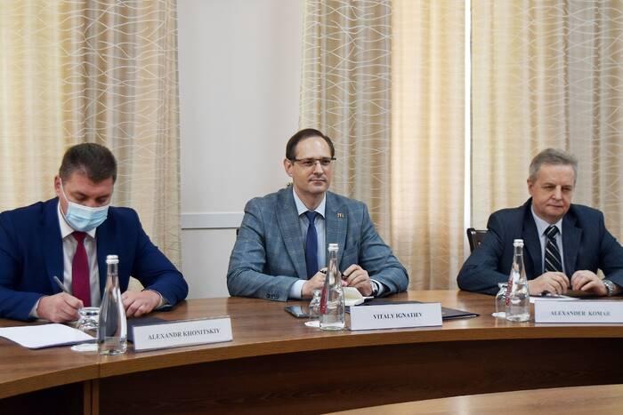 В МИД ПМР прошла встреча с австрийским послом Стеллой Аваллоне