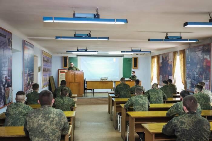 В Военном институте провели «День добрых начинаний»