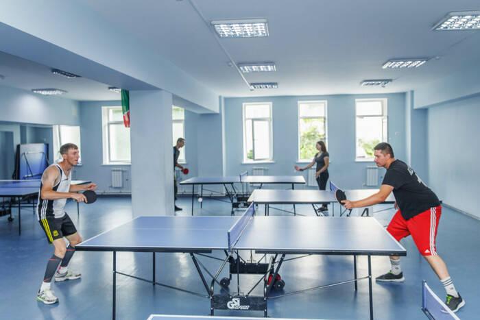 Чемпионат по настольному теннису прошел в Вооруженных силах ПМР