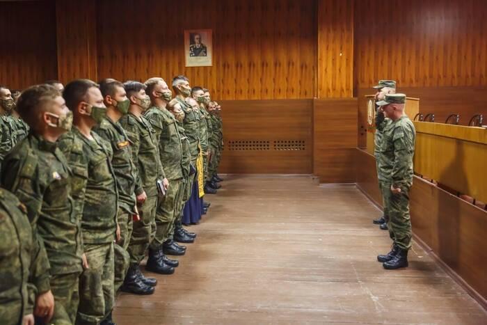 В Вооружённых силах ПМР начался летний период обучения