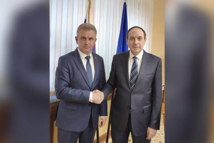 Вадим Красносельский и Вячеслав Никонов обсудили взаимодействие в сфере образования