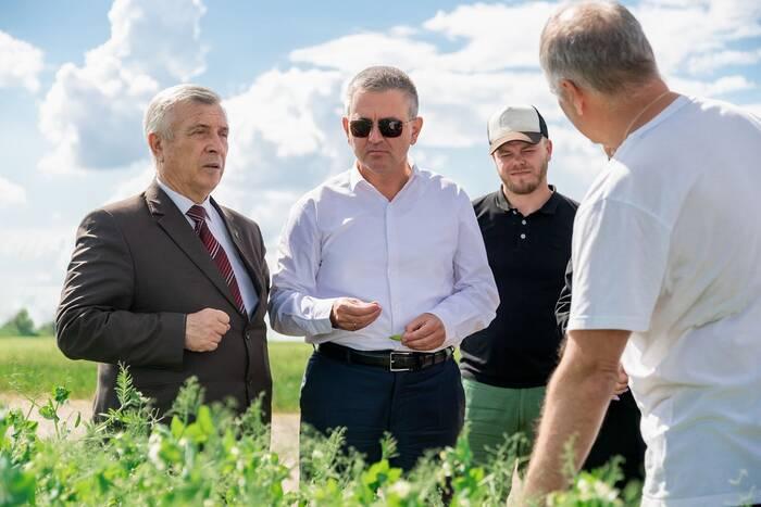 Вадим Красносельский: Площадь орошаемых земель увеличена на 120% по сравнению с 2016 годом