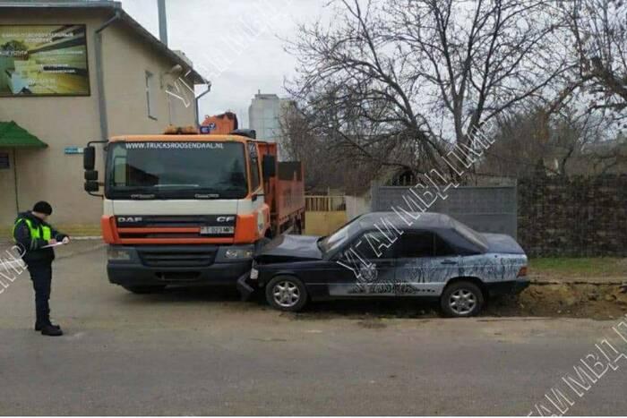 12 марта в республике зафиксировали три ДТП: два в Тирасполе и одно в Бендерах
