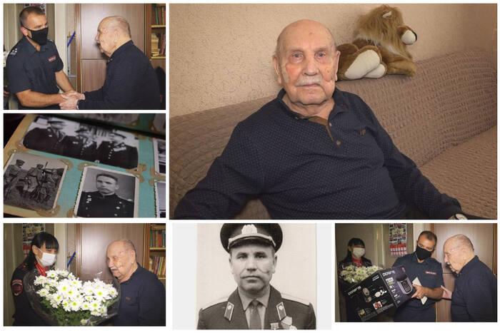 Ветерану Великой Отечественной войны Николаю Гуляеву исполнилось 95 лет