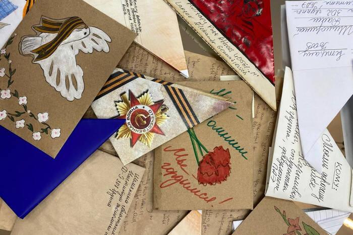 Юнармейцы приняли участие в акции «Письмо ветерану»