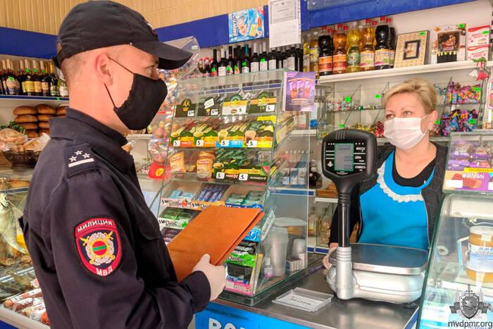 За неделю выявлено 66 нарушений карантинного режима на объектах торговли и сферы услуг
