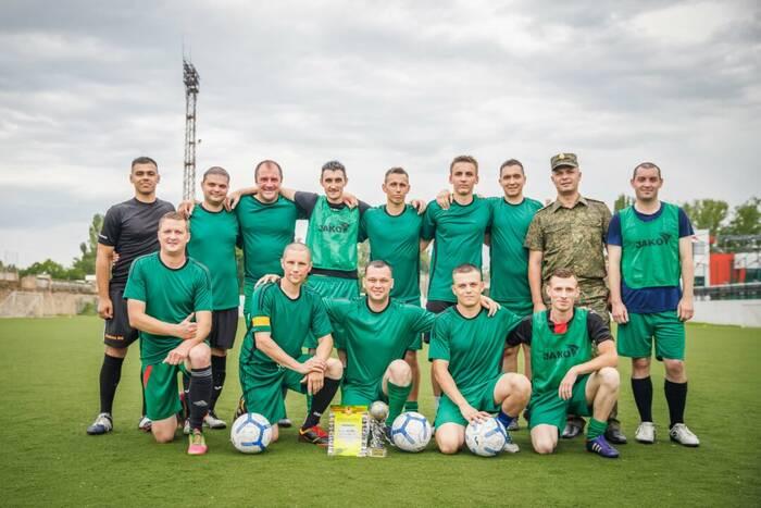 Завершился чемпионат Вооруженных сил ПМР по футболу
