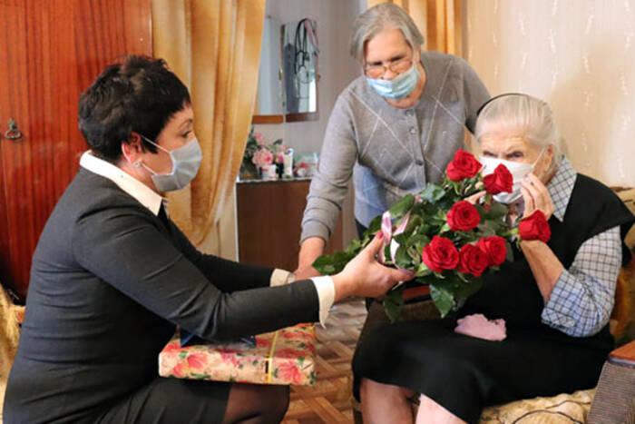 Жительница Дубоссар Екатерина Храмченко отметила 100-летний юбилей